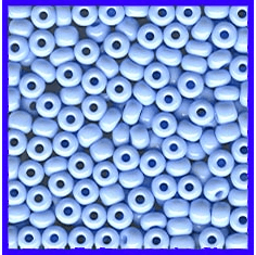 Pale Blue 6/0 Seed Beads