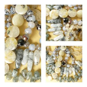 """Prehnite Beads Faceted, Ovals, Chips """"Tourmalated Green Silicate"""""""