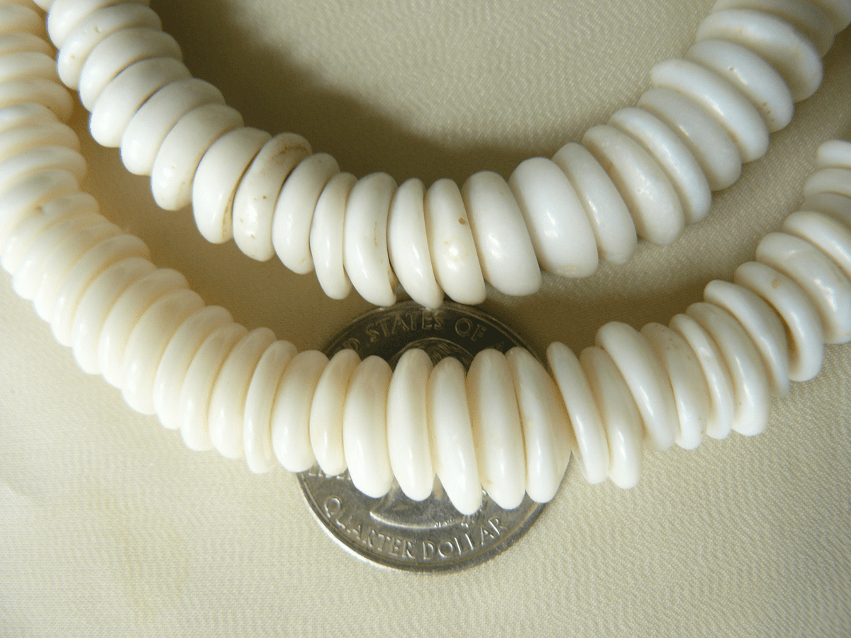 Puka Shell and Heishi Beads and ready to wear Strands