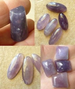 Purple Chalcedony Cabochons Natural Awesome Purples
