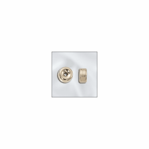 Rondelle 8mm  10 Beads  Gold Filled GF-30108