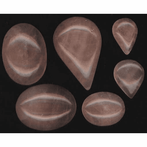 Rose Quartz Cabochons