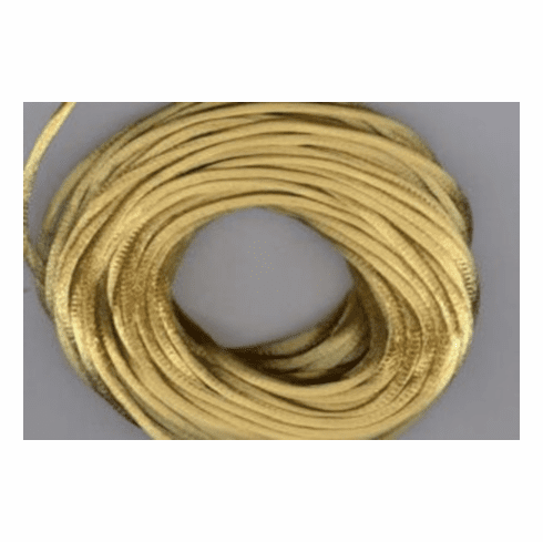 Satin Cord - Antique Gold