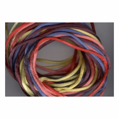 Satin Cord - Multi Bright