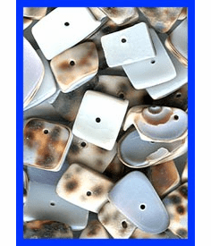 SH-31 Drilled Sea Shell Bead choice of 80 or 160 Gram Bags