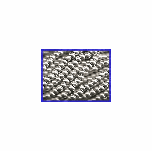 Silk Bright Silver 8/0 Seed Beads