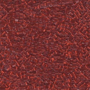 Silver Lined Flame Red