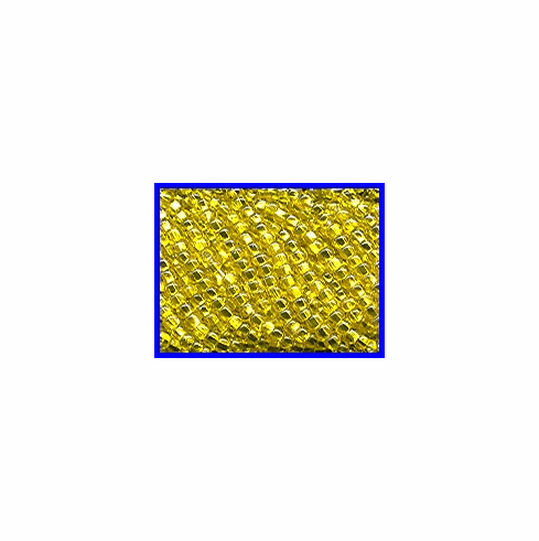 Silver Lined Yellow 11/0 Seed Beads