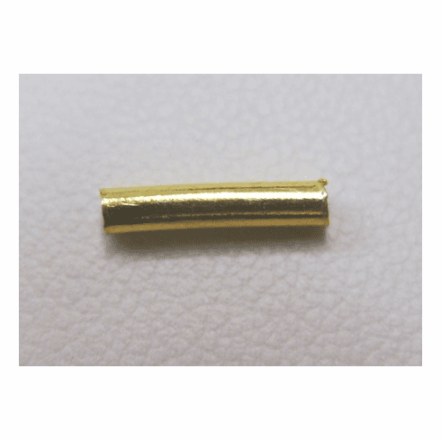 Small Tube-24Kt Gold over copper GCBK85