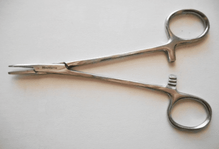 Smooth Jaw Hemostat
