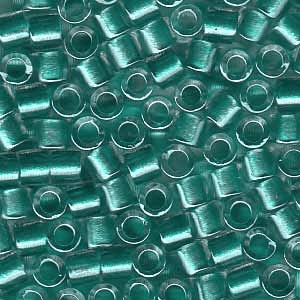 Sparkle Turquoise Lined Crystal DBL904