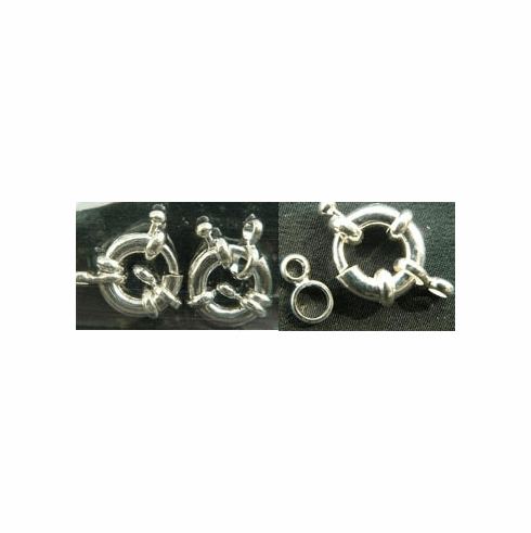 Spring Ring Clasps 12mm