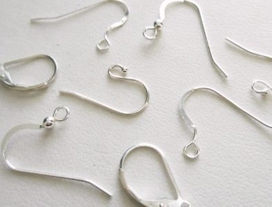 Sterling Silver Ear Wires 925 sterling many varietys multi-packs