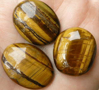 Tiger Eye Cabochons Many shapes and sizes
