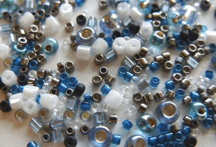 Toho beads: Seed Beads, Treasures, Triangles, Hex, Magatamas