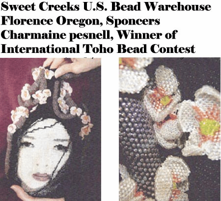 Toho International Bead contest winner