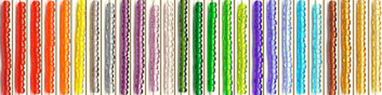 Toho Round Beads Size 15<br>Sold in 10 gram tubes