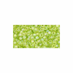 Transparent Rainbow Lime Green AB<br>15R164