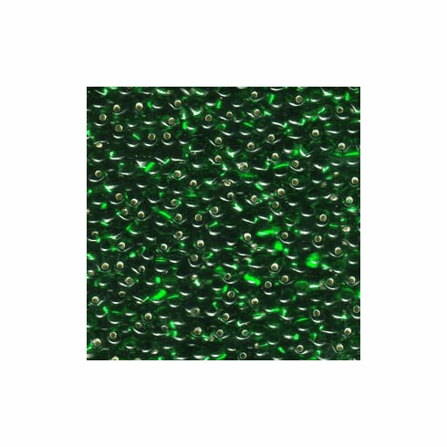 Transparent Silverlined Green