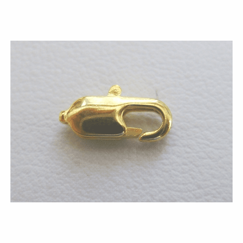 Trigger Clasp - 12mm - 35Clasps - 24Kt. Gold Over Copper