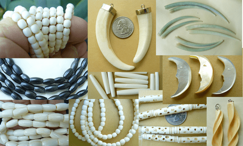 Tusk and Bone Beads native art