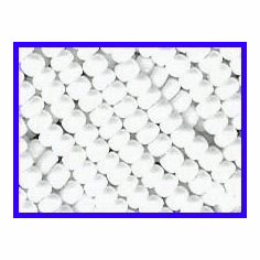 White 8/0 Seed Beads