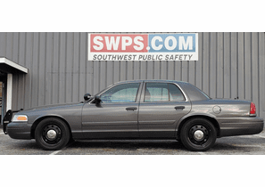 SOLD 2011 Ford Crown Victoria Police Interceptor 110K - 2FABP7BV3BX161426