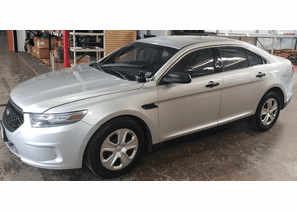 SOLD 2013 Ford Police Interceptor Sedan Silver 1FAHP2MT4DG204804