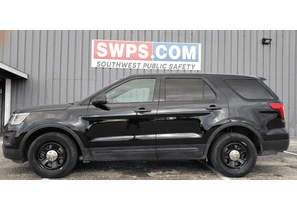 SOLD 2016 Ford Police Interceptor Utility Black 70k Miles 1FM5K8AR0GGC14902