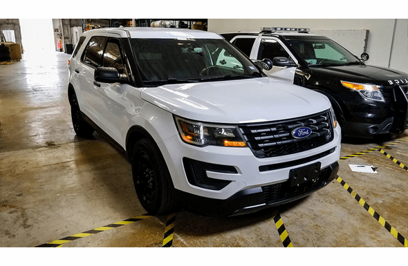 2016 Ford Police Utility Interceptor - White - 66K Miles
