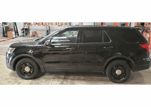 SOLD 2017 Ford Police Interceptor Utility Black 70k Miles 1FM5K8AR6HGB15597