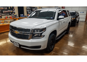 SOLD 2019 White Chevy Tahoe - with Equipment - 75k Miles