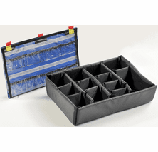 Pelican 1500 Padded Divider Set - EMS VERSION W/ Lid Organizer