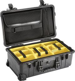 Pelican 1510SC-BLACK Studio Case w/ Sleeve & Dividers