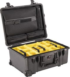 Pelican 1560SC-BLACK Studio Case w/ Sleeve & Dividers