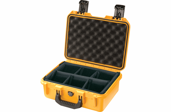 Pelican Storm Case iM2100  With Padded Dividers YELLOW