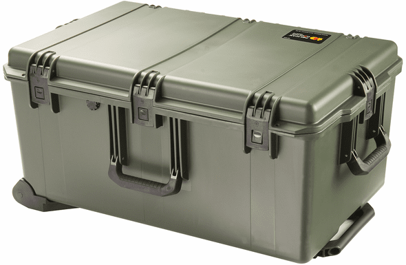 Pelican Storm Case IM2975 With Padded Dividers GREEN