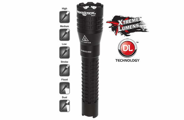 NightStick Tactical Dual-Light™ Flashlight – USB Rechargeable - NSR-9854XL
