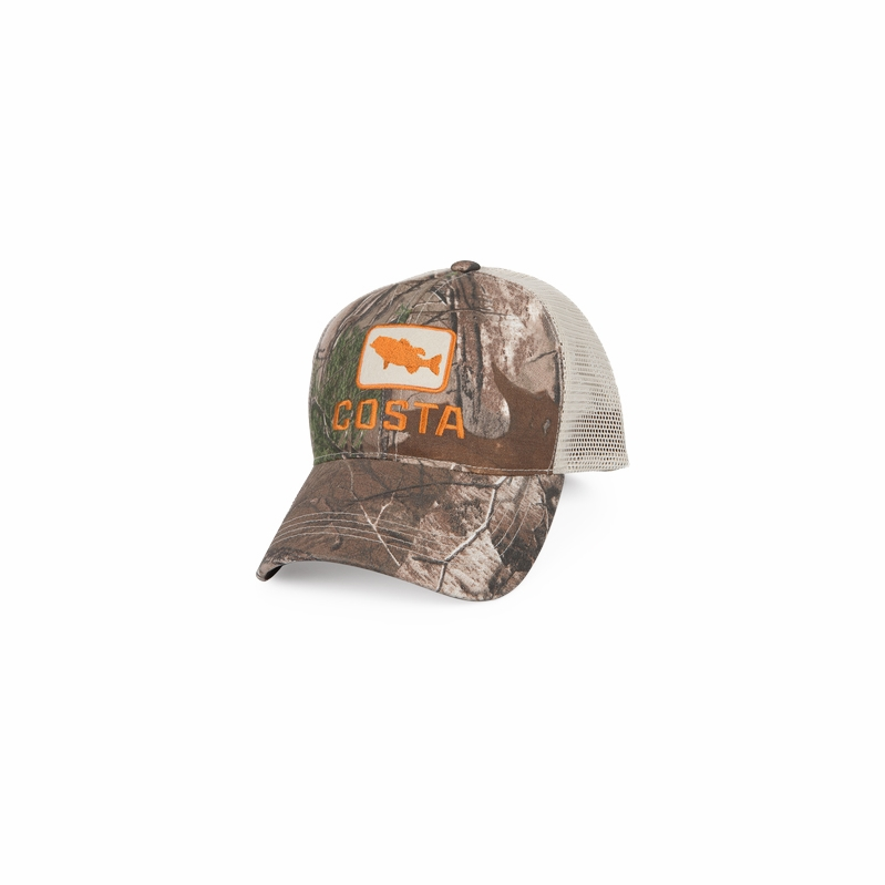 ef005361aed Costa Del Mar Bass Trucker X-Large Hats - TackleDirect
