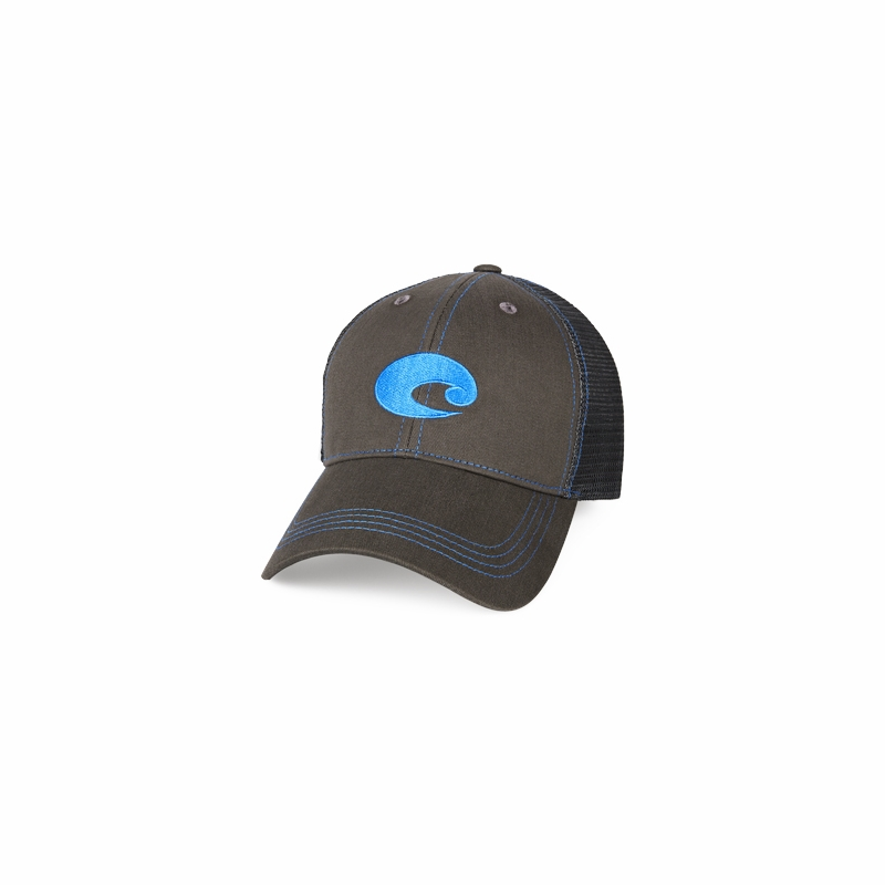 cc57288e Costa Del Mar Neon Trucker Hats - TackleDirect