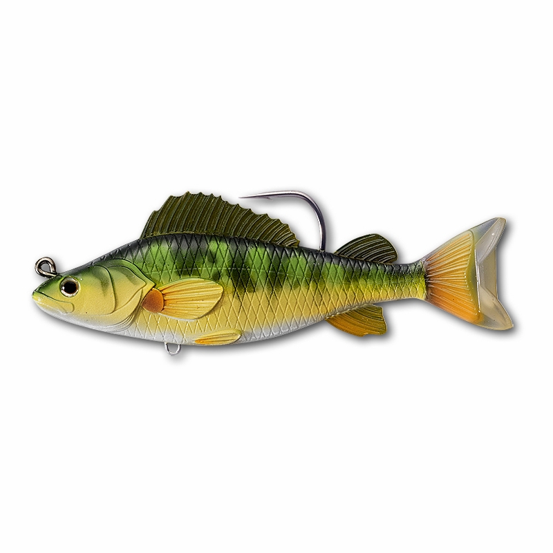fe04de14f LIVETARGET Yellow Perch Swimbait - TackleDirect