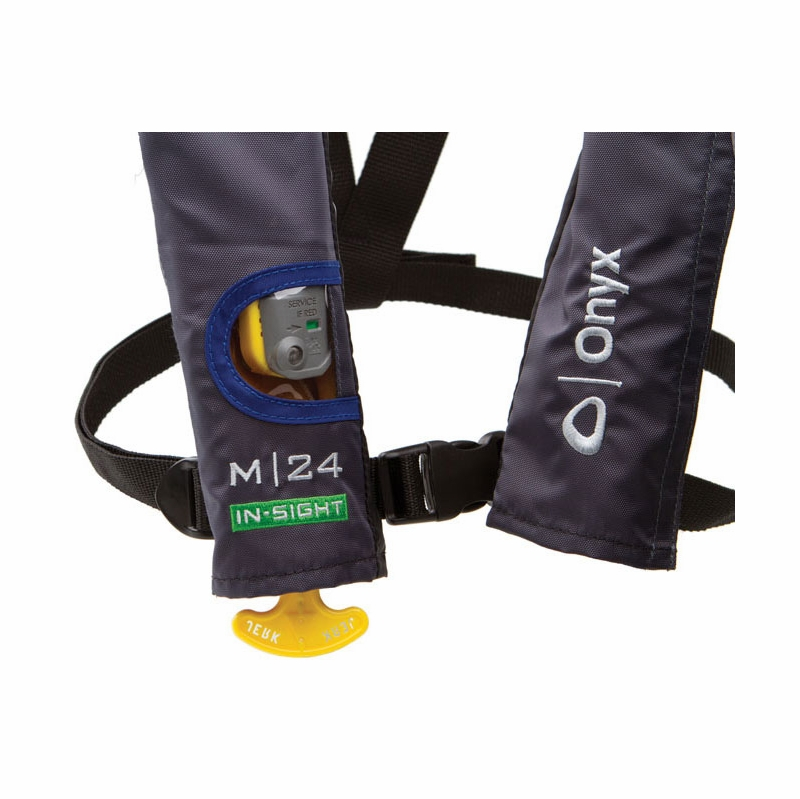 Onyx 131300-500-004-12 M-24 In-Sight Manual Inflatable Life Vest Blue