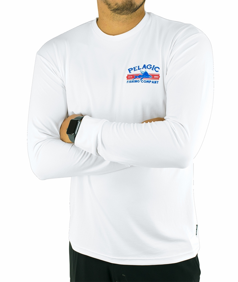 373daeacc214 Pelagic Aquatek Fish Co. LS Shirts - TackleDirect