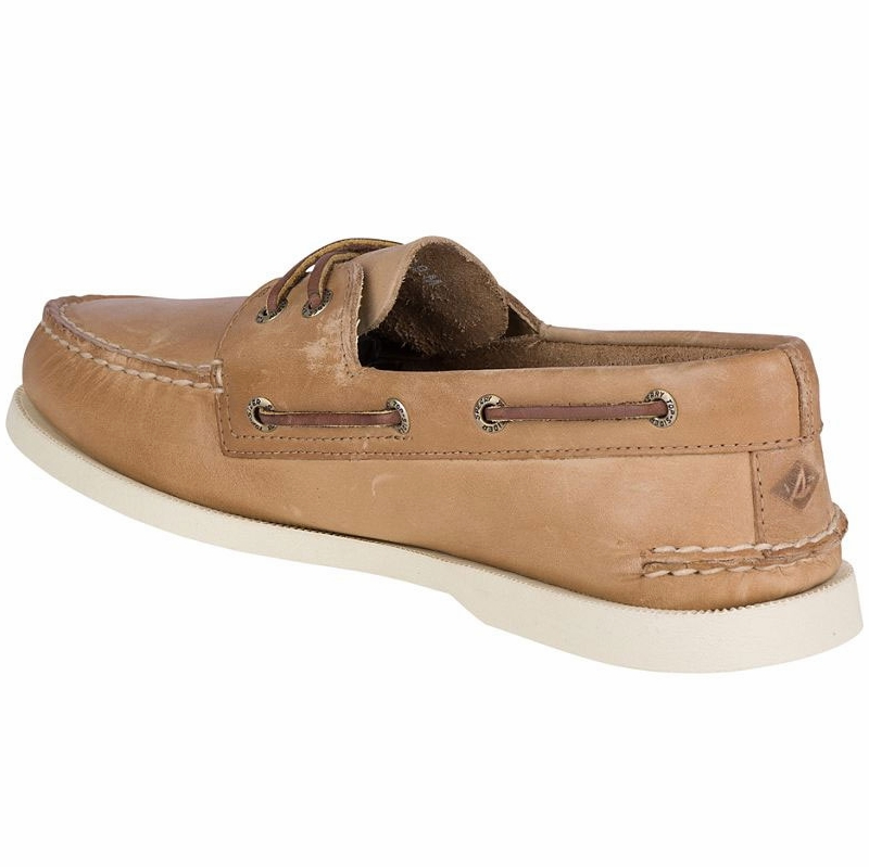 42ef16f74d Sperry Top-Sider Men s Authentic Original Boat Shoe - Oatmeal - 10.5 ...