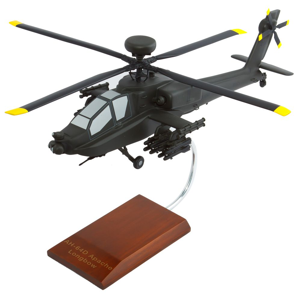 AH-64 Apache Longbow Model Helicopter | Replica Helciopter Scale Model