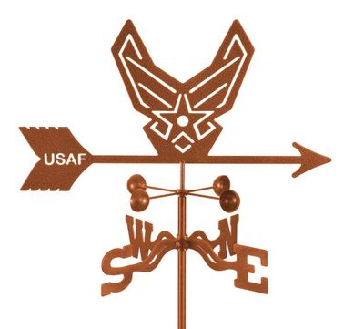 Air Force Emblem Weather Vane - Modern