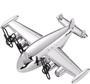 Aircraft Paper Weight | Personalization Available
