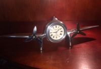 Airplane Clock with Trench Art | <font color=red>Santa Saver </font color>