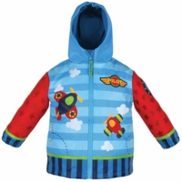 Toddler Airplane Design Raincoat