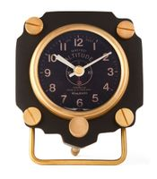 Altimeter Alarm Clock | Black